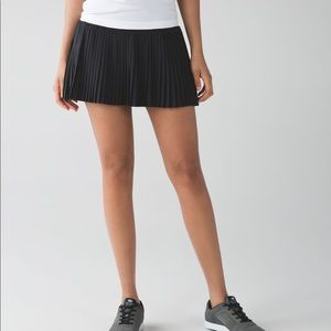 LuluLemon Pleat to the Street Skirt